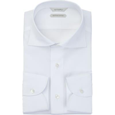 White_Plain_Shirt_Single_Cuff_H9053U