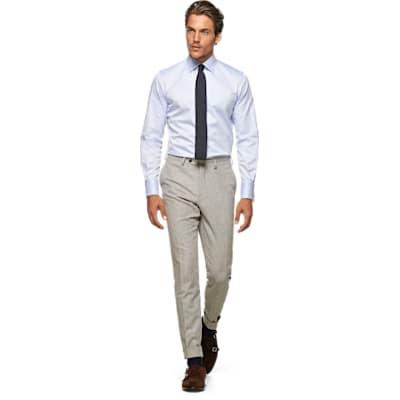 Blue_Plain_Shirt_Double_Cuff_H9093U