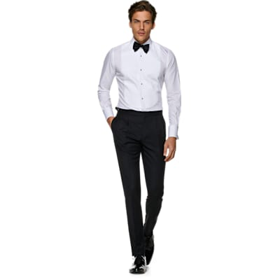 White_Plain_Tuxedo_Shirt_Double_Cuff_H9096U