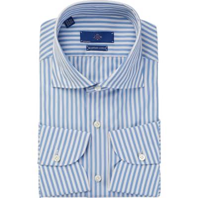 Jort_Light_Blue_Stripe_Shirt_Single_Cuff_SH095-J