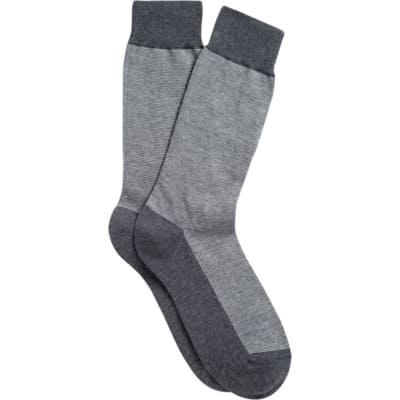 Grey_Regular_Socks_O289