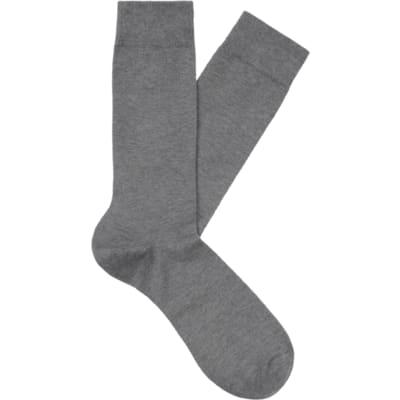 Light_Grey_Regular_Socks_O602