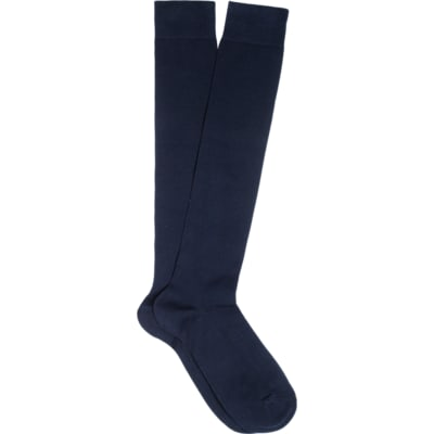 Blue_Knee_high_Socks_O605