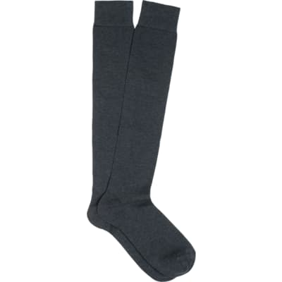Dark_Grey_Knee_high_Socks_O607