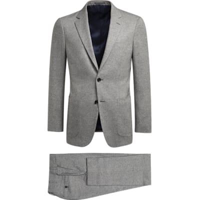 Suit_Light_Grey_Plain_Havana_P5273I