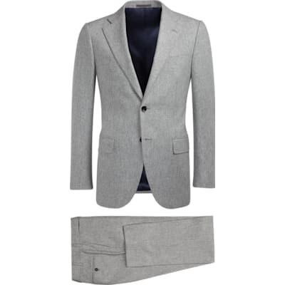 Suit_Light_Grey_Plain_Lazio_P5281I