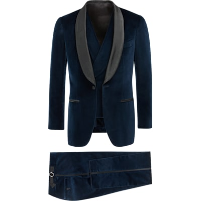 Suit_Blue_Plain_Havana_P5350I