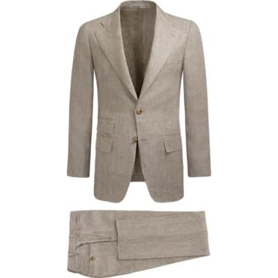 Suit_Light_Brown_Plain_Havana_P5402I