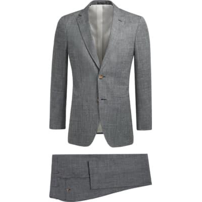Suit_Grey_Plain_Havana_P5428I