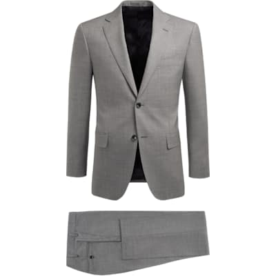 Suit_Light_Grey_Plain_Napoli_P5441I