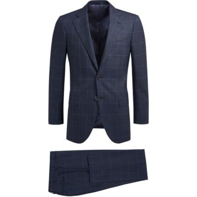 Suit_Blue_Check_Lazio_P5459I