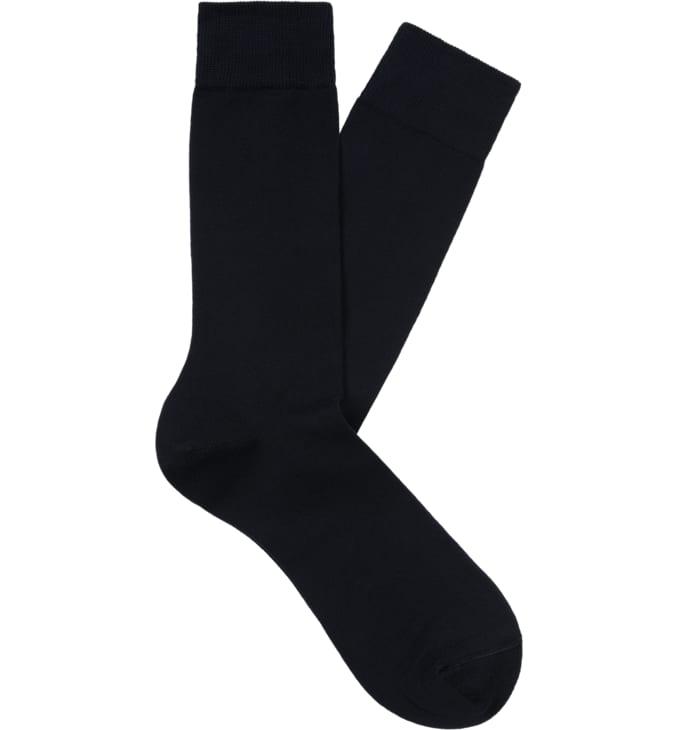 Navy Regular Socks