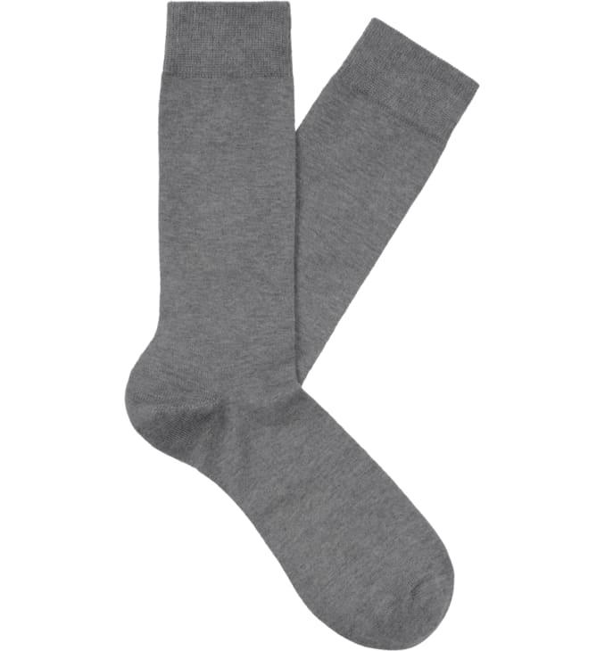Light Grey Regular Socks