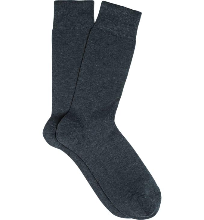 Dark Grey Regular Socks