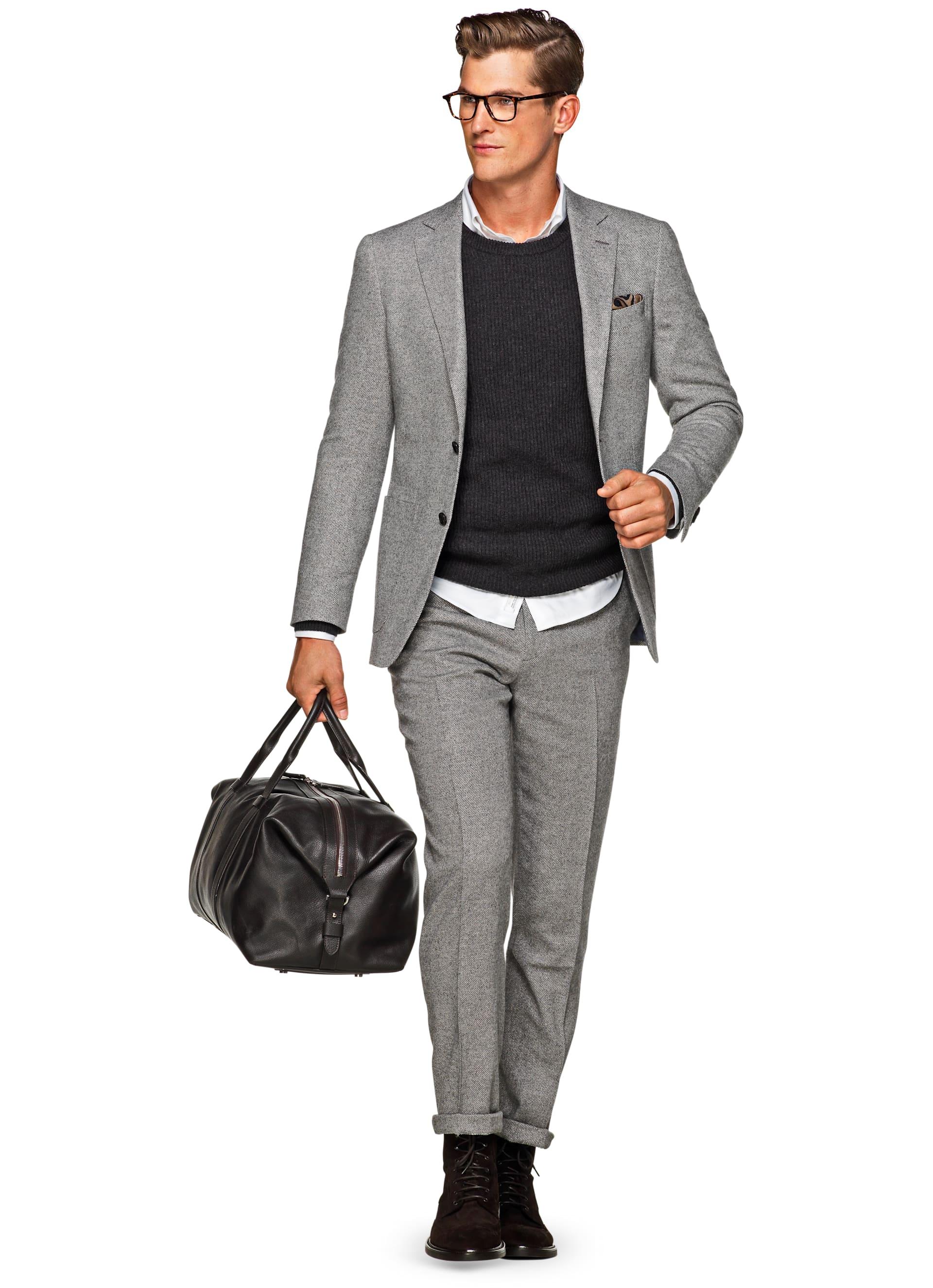 gallery in peak lyst light for lapel slim clothing klein normal men calvin product grey gray fit suit