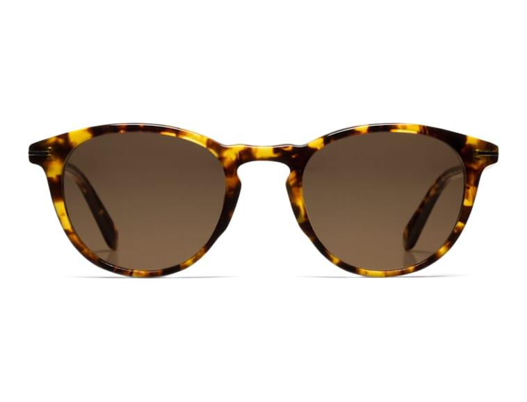 Tortoise Round Sunglasses