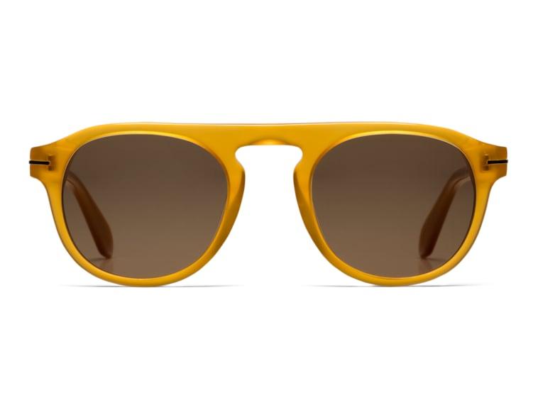 Citrus Round Sunglasses