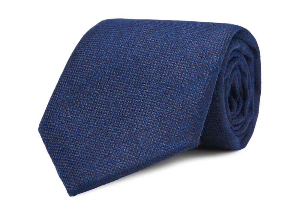Navy 7-fold Jort Tie