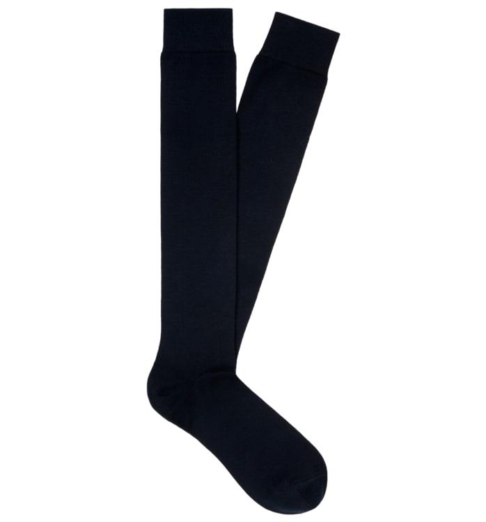 Blue Knee high Socks