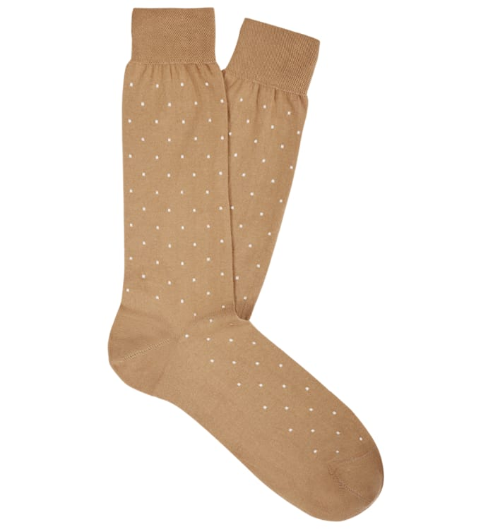 Camel Regular Socks