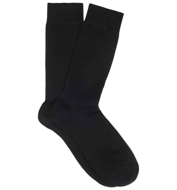 Black Regular Socks