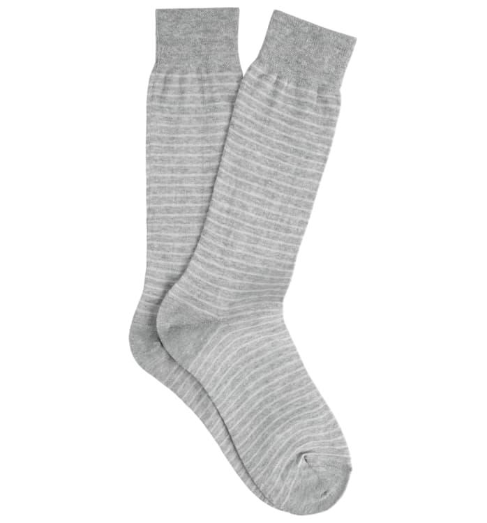 Grey Regular Socks