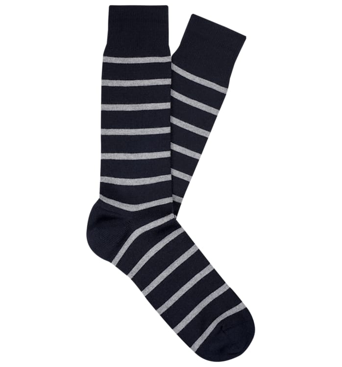 Navy Regular Socks