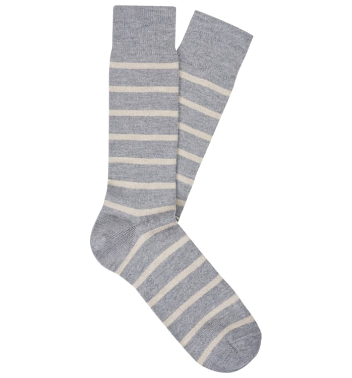 Grey Regular Socks