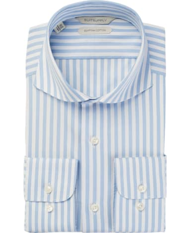 Light Blue Stripe Shirt