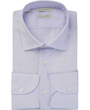Purple Check Shirt