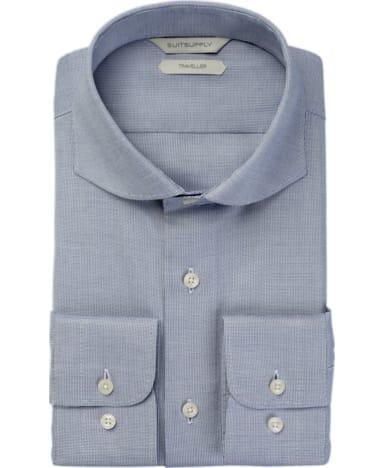 Blue Faux Uni Traveller Shirt