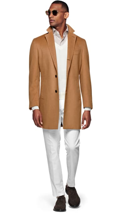 Light Brown Overcoat