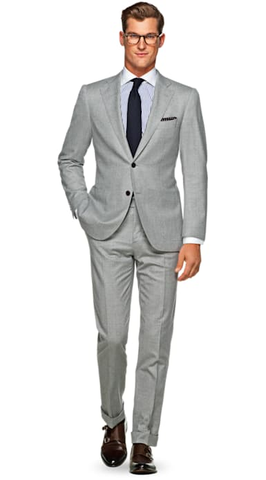 Jort Light Grey Plain