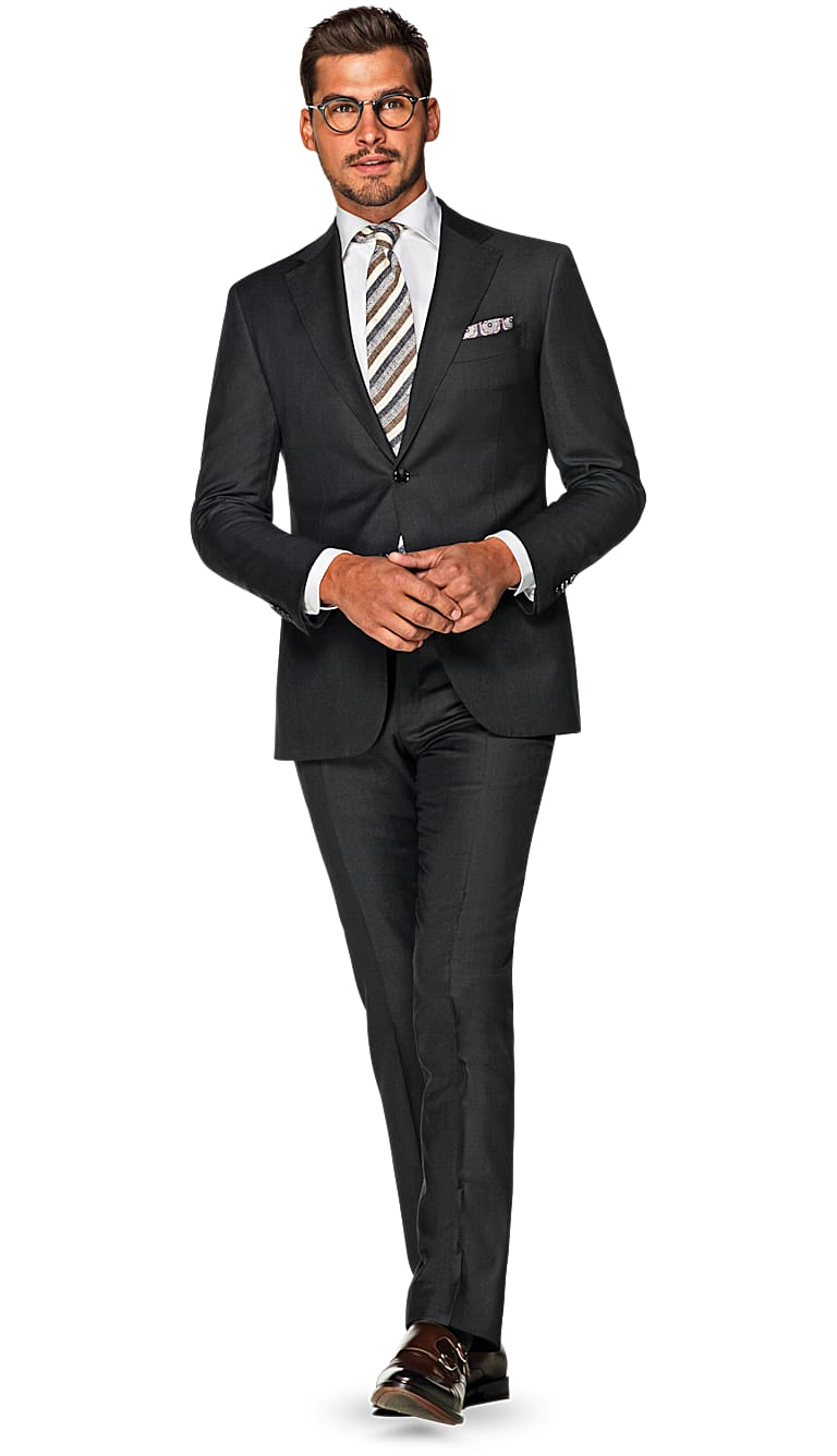 Dark Grey Suit Men S Charcoal Suit Dark Grey Suit Men S Wearhouse ...