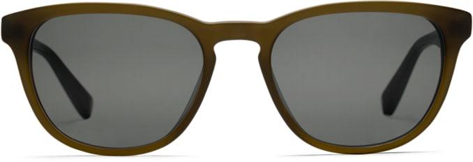 Dark Brown Rectangle Sunglasses