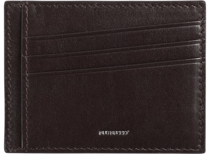 Dark Brown Card Holder