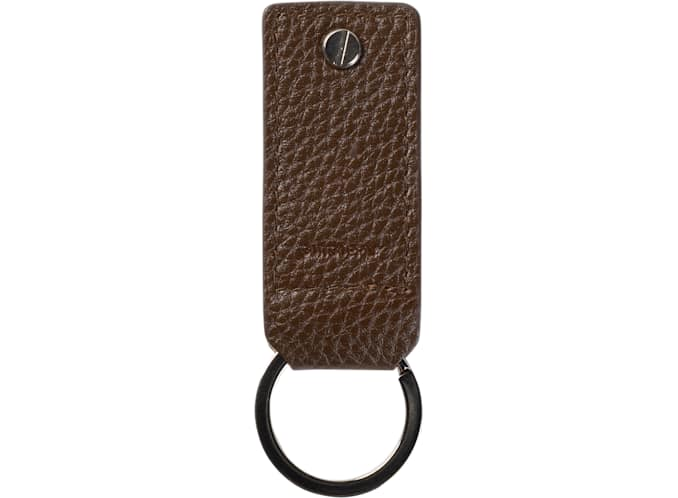 Mid Brown Key Ring and USB Drive