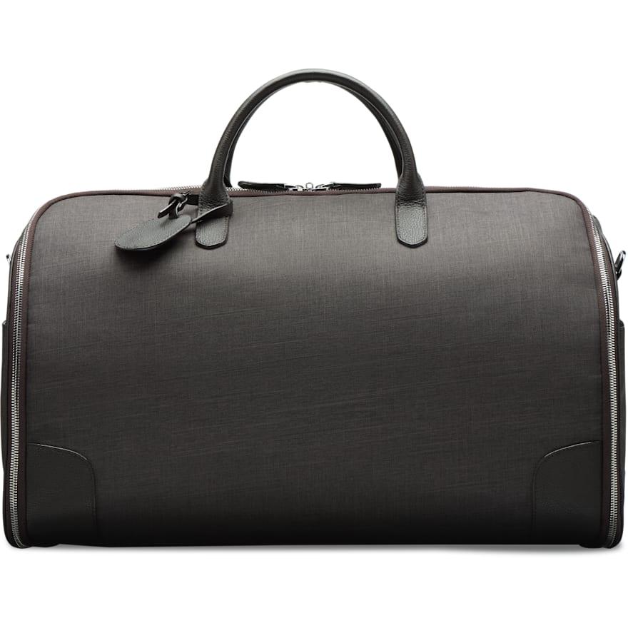 Dark Brown Holdall Suit Carrier
