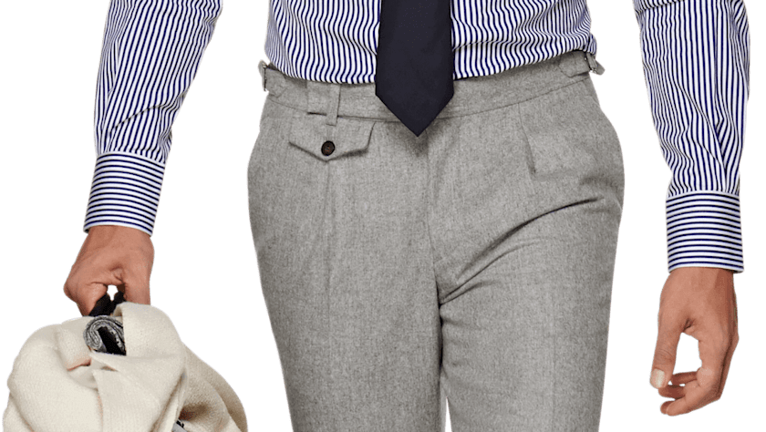 The Pleated Trousers