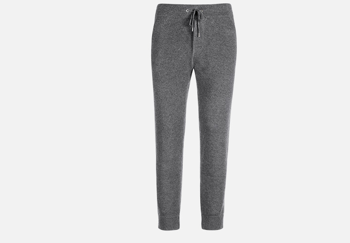 9e1f59a010f Whether you pair it up with a t-shirt or go uniform with its hoodie  counterpart, these lightweight, 100% cashmere sweatpants bring a whole new  meaning to ...