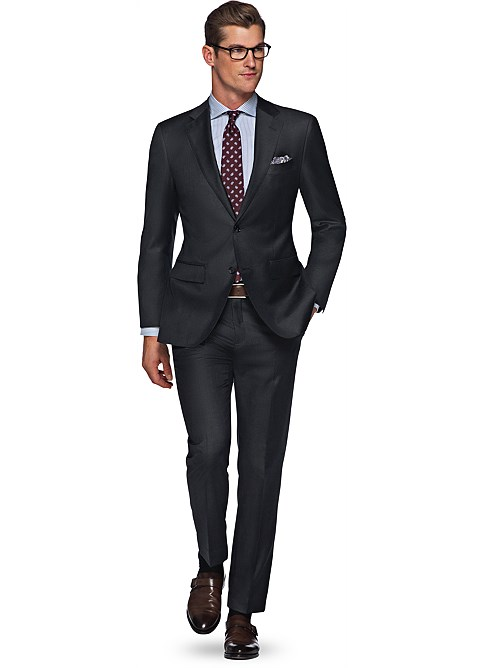Suit_Dark_Grey_Plain_Napoli_P2525ITAH
