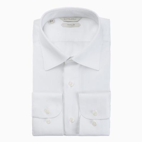 WHITE PLAIN SHIRT
