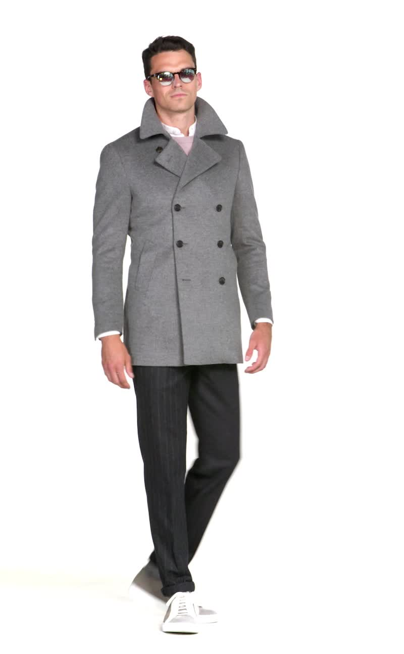 popular design professional website top-rated cheap Mid Grey Peacoat J632 | Suitsupply Online Store